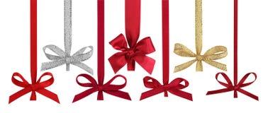 κορδέλλες Χριστουγένν&ome Στοκ Εικόνες