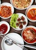Κορεατικά τρόφιμα Στοκ Φωτογραφίες