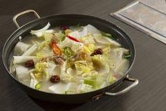 Κορεατικά τρόφιμα στοκ εικόνα