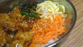 Κορεατικά τρόφιμα Στοκ εικόνα με δικαίωμα ελεύθερης χρήσης