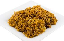 κορεατικά noodles στοκ φωτογραφία