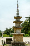 Κορεατική αρχαία παγόδα Στοκ Φωτογραφία