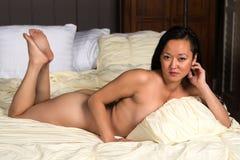 Κορεατική γυναίκα Στοκ Φωτογραφία