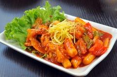 Κορεατική κουζίνα Στοκ φωτογραφία με δικαίωμα ελεύθερης χρήσης