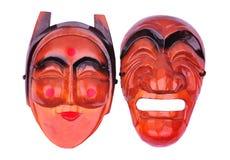 κορεατική μάσκα παραδοσ Στοκ Εικόνα