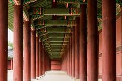 Κορεατική παραδοσιακή αρχιτεκτονική Στοκ Φωτογραφία