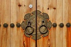 Κορεατική πόρτα ύφους Στοκ εικόνες με δικαίωμα ελεύθερης χρήσης