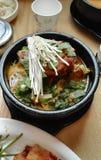 Κορεατική σούπα Gamjatang κόκκαλων χοιρινού κρέατος Στοκ Φωτογραφία