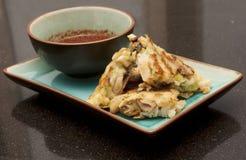 Κορεατική τηγανίτα Στοκ φωτογραφίες με δικαίωμα ελεύθερης χρήσης