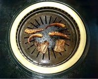 Κορεατική ψημένη στη σχάρα κουζίνα στοκ εικόνα