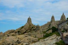 Κορεατικός βουδιστικός ναός Στοκ εικόνα με δικαίωμα ελεύθερης χρήσης