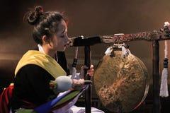 Κορεατικός μουσικός jing φορέας Στοκ Φωτογραφία