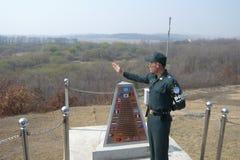 κορεατικός νότος στρατι&o Στοκ φωτογραφία με δικαίωμα ελεύθερης χρήσης