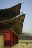κορεατικός παραδοσιακός αρχιτεκτονικής στοκ φωτογραφίες
