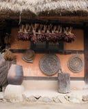 κορεατικός παραδοσιακός σπιτιών Στοκ φωτογραφία με δικαίωμα ελεύθερης χρήσης