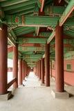 Κορεατικός παραδοσιακός διάδρομος Στοκ εικόνα με δικαίωμα ελεύθερης χρήσης