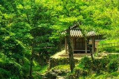 Κορεατικός παραδοσιακός ναός Στοκ φωτογραφίες με δικαίωμα ελεύθερης χρήσης