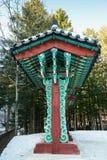 Κορεατικός παραδοσιακός πίνακας διαφημίσεων Στοκ Φωτογραφίες