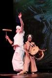 Κορεατικός παραδοσιακός χορός Στοκ Εικόνες