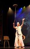 Κορεατικός παραδοσιακός χορός Στοκ Εικόνα
