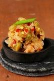 Κορεατικό παραδοσιακό kimchi λάχανων σαλάτας Στοκ φωτογραφία με δικαίωμα ελεύθερης χρήσης