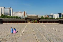 Κορεατικό παλάτι Στοκ εικόνες με δικαίωμα ελεύθερης χρήσης