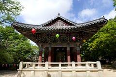 Κορεατικό περίπτερο Στοκ Εικόνες
