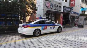 Κορεατικό περιπολικό της Αστυνομίας Στοκ φωτογραφίες με δικαίωμα ελεύθερης χρήσης