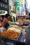 κορεατικό πρόχειρο φαγη&tau Στοκ φωτογραφία με δικαίωμα ελεύθερης χρήσης