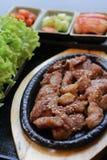 Κορεατικό σύνολο τροφίμων Στοκ φωτογραφία με δικαίωμα ελεύθερης χρήσης