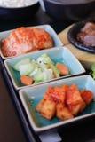 Κορεατικό σύνολο τροφίμων Στοκ Φωτογραφίες
