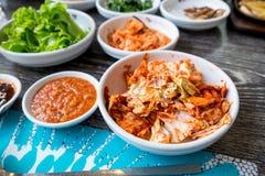 Κορεατικό ύφος Kimchi Στοκ φωτογραφία με δικαίωμα ελεύθερης χρήσης