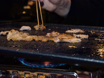 Κορεατικό BBQ Στοκ εικόνα με δικαίωμα ελεύθερης χρήσης
