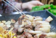 Κορεατικό BBQ Στοκ φωτογραφία με δικαίωμα ελεύθερης χρήσης