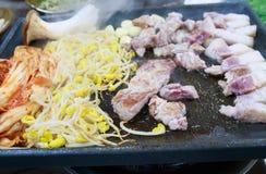 Κορεατικό BBQ Στοκ Φωτογραφία