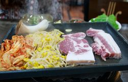 Κορεατικό BBQ Στοκ φωτογραφίες με δικαίωμα ελεύθερης χρήσης