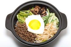 Κορεατικό bibimbap Στοκ Εικόνα