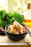 Κορεατικό kimchi λάχανων Στοκ εικόνες με δικαίωμα ελεύθερης χρήσης