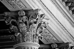 Κορινθιακή στήλη στις Βερσαλλίες Στοκ Εικόνα