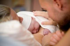 κοριτσάκι νεογέννητο Στοκ Εικόνα