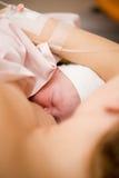 κοριτσάκι νεογέννητο Στοκ φωτογραφίες με δικαίωμα ελεύθερης χρήσης
