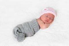 κοριτσάκι νεογέννητο Στοκ Φωτογραφίες