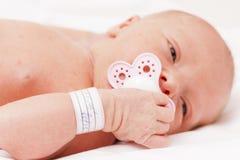 κοριτσάκι νεογέννητο Στοκ Φωτογραφία