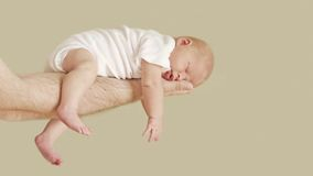 κοριτσάκι νεογέννητο Στοκ Εικόνες