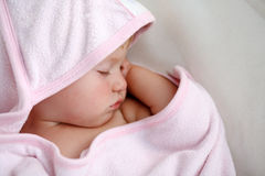 Κοριτσάκι ύπνου Στοκ εικόνες με δικαίωμα ελεύθερης χρήσης