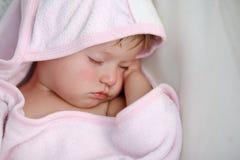 Κοριτσάκι ύπνου Στοκ Εικόνα