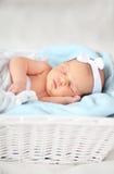 Κοριτσάκι ύπνου Στοκ εικόνα με δικαίωμα ελεύθερης χρήσης