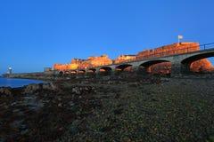 Κορνέτα Castle Guernsey Στοκ Εικόνα