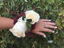 Κορσάζ λουλουδιών Στοκ φωτογραφίες με δικαίωμα ελεύθερης χρήσης