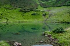 κορσικανικά βουνά βουνών λιμνών λάκκας creno de Γαλλία της Κορσικής Στοκ Φωτογραφία